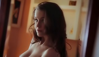 Cute slut is enjoying awesome solo