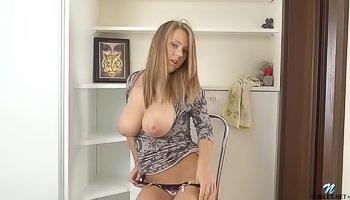 Hot madam is fingering pussy