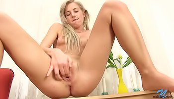 Fingering sweet vagina with passion
