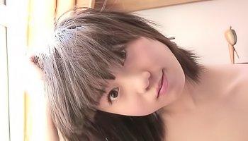 Japanese beauty displays her massive swollen nipples