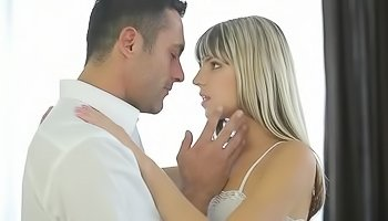 Passionate blonde is enjoying deep penetration