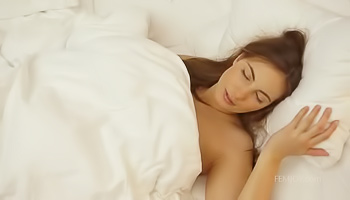 Naughty brunette's latest orgasmic awakening