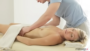 Short-haired and thick blonde gets fucked raw