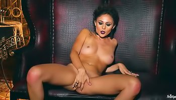Immaculate brunette teasing you relentlessly