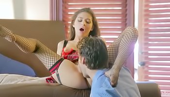 Crazy sex with a cute girlfriend